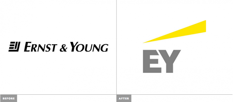 New Logo and Name for Ernst & Young